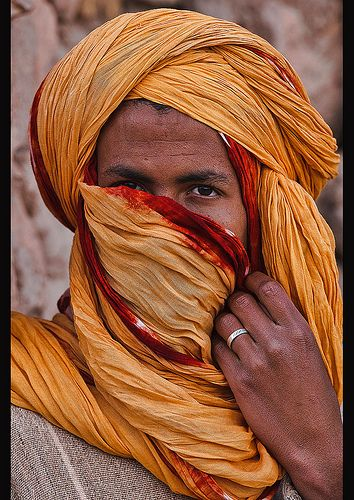 portrait of a Berber man, Ait Benhaddou, Morocco