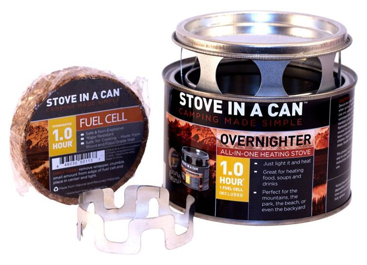 Stove in a Can Overnighter Heating Stove | Bass Pro Shops #camping #survivalgear #homeemergency #stoveinacan #fuelcell