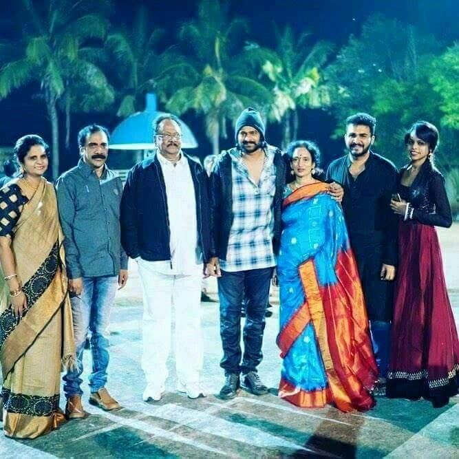 Prabhas family function