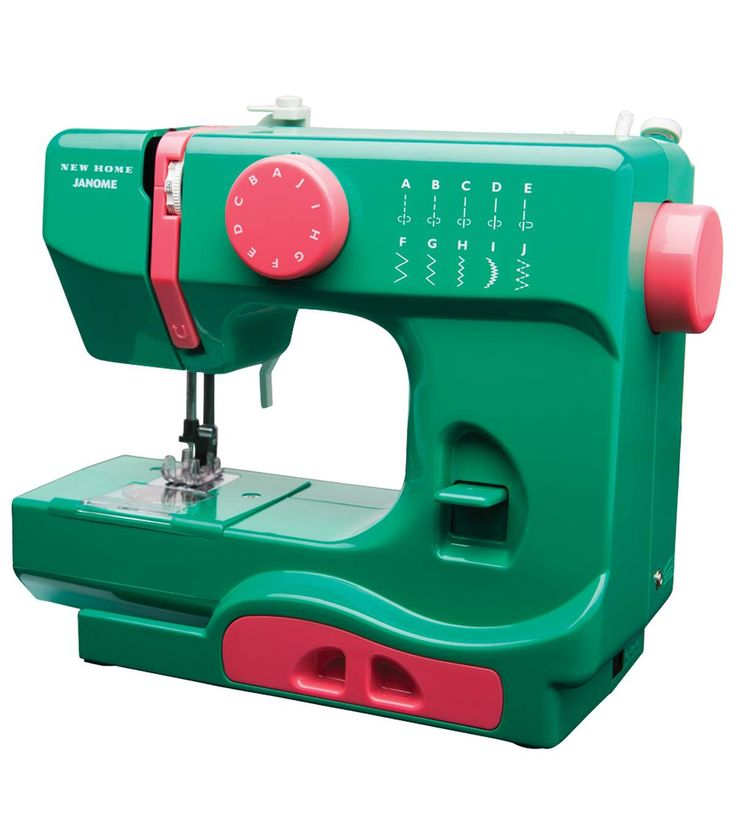 Janome Derby Portable Sewing Machine- Watermelon Crush