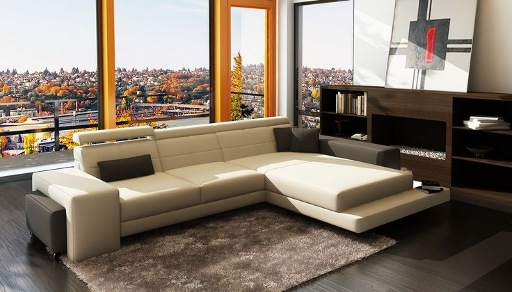 best 25 leather sectional sofas ideas on pinterest leather couch living room brown living. Black Bedroom Furniture Sets. Home Design Ideas