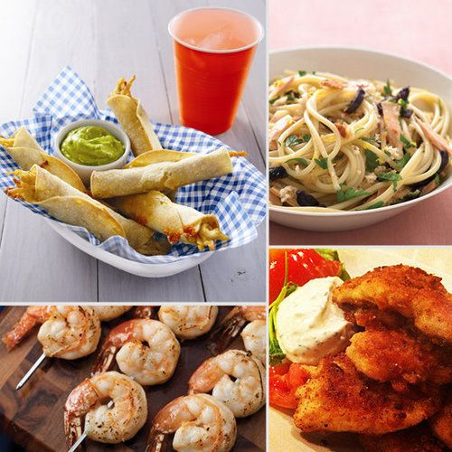 26 Easy 30-Minute Family Meals    School's in session, activities have begun, and the family's schedule is crazier than ever. To help get dinner on the table in a hurry, we've rounded up more than a month's worth of quick school night dinners. Click through to find a recipe for tonight!