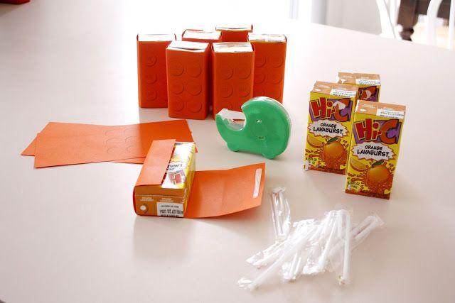 Lego Juice Box Bricks - delia creates