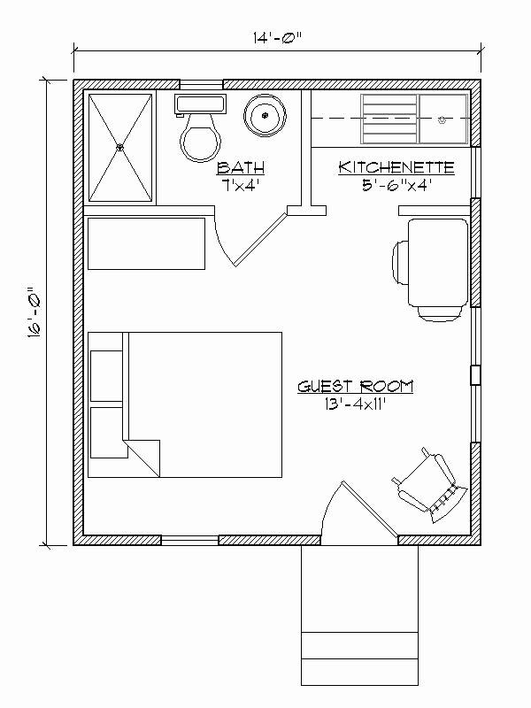 One Bedroom Guest House Plans Best Of Small House Plan For Outside Guest House Make That A Guest House Plans Tiny Guest House Guest House Shed