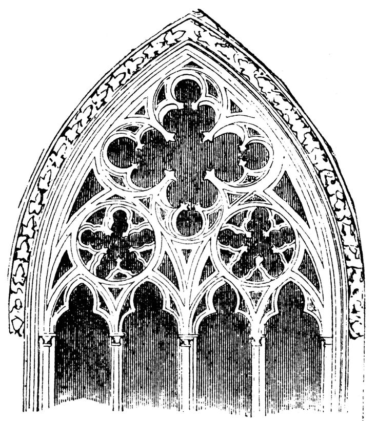 388 best gothic tracery images on pinterest gothic for Gothic design elements