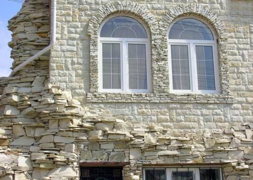 Отделка домов и квартир камнем