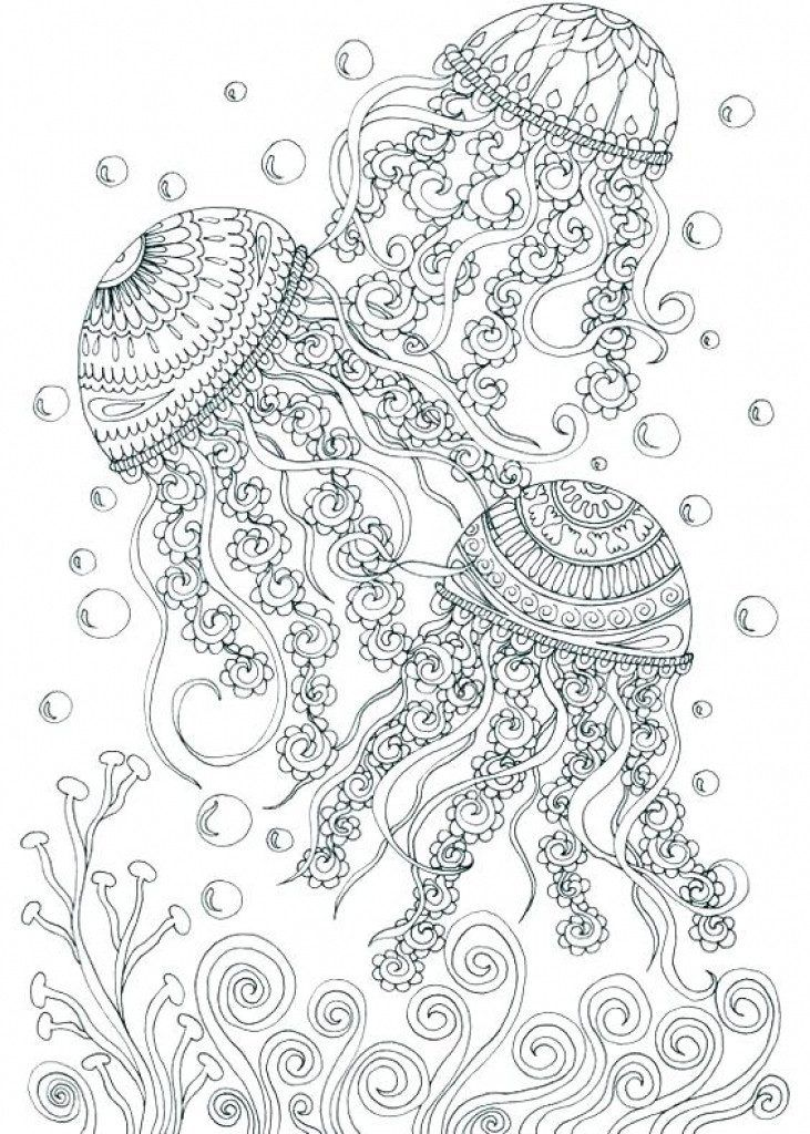 Ocean Coloring Pages for Adults Ocean coloring pages