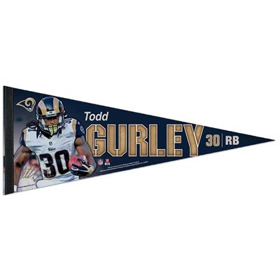 Los Angeles Rams Todd Gurley II 12x30 Premium Pennant: Los Angeles Rams Todd Gurley II 12x30 Premium Pennant Show your pride with the…