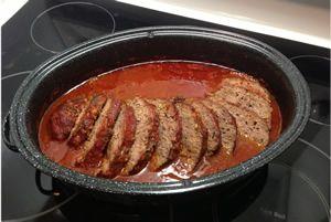 Pain de viande sauce rouge à la mijoteuse , tellement simple, tellement bon ! INGRÉDIENTS le pain de viande: 2 lbs de viande hachée 2 tranches de pain rôties et …