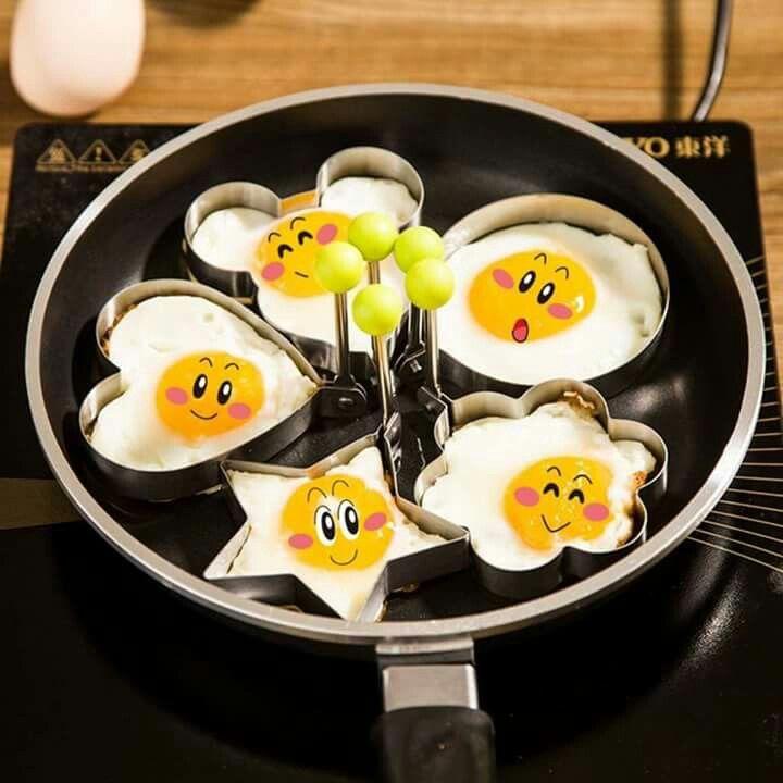 มาเปลี่ยน การทอดไข่กันเถอะ  😊 ชุดทอดไข่ ลายดอกไม้ มิกกี้เมาส์  หัวใจ   ให้ลูกน้อยมีความสุขในการรับประทานไข่จร้า  ราคา ชิ้นละ 59 ลาท้ท่สนั้นจร้า สั่งเลยนะคะ Line : kirin-shop