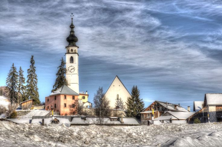 Church Ftan Swiss by Filipe Coelho