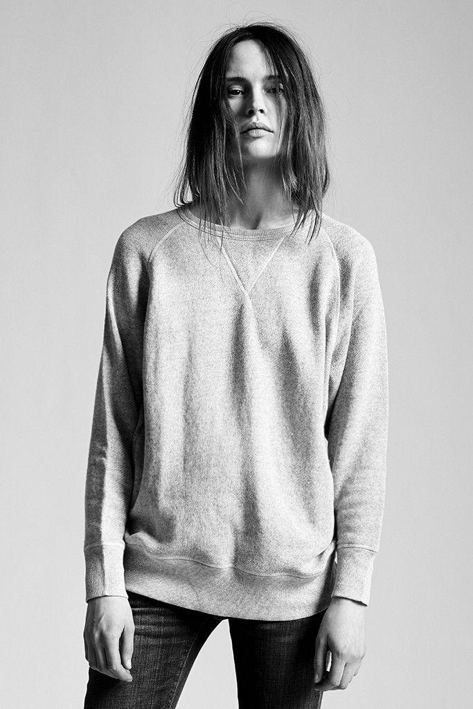 Basic sweatshirt heather grey