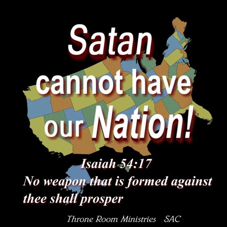 National Day of Prayer, May 1:  pray for America