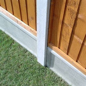 8ft x 4 x 3in (2.36mx106x84mm) Lightweight Concrete Fence Post