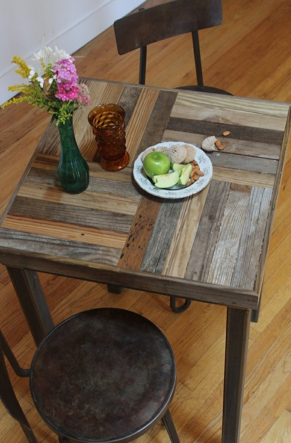 Custom Made Reclaimed Pallet And Barn Wood Pub Bistro