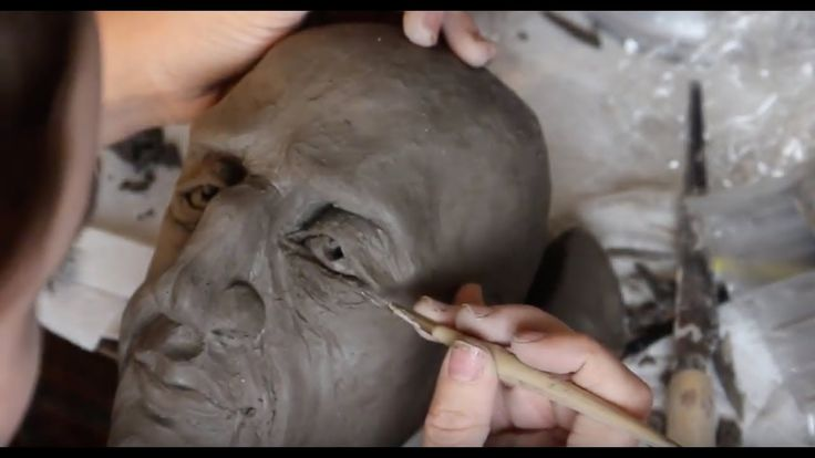 Let's Sculpt a Face! :) ASMR