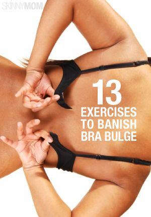 These exercises are going to help you get rid of the bra bulge!
