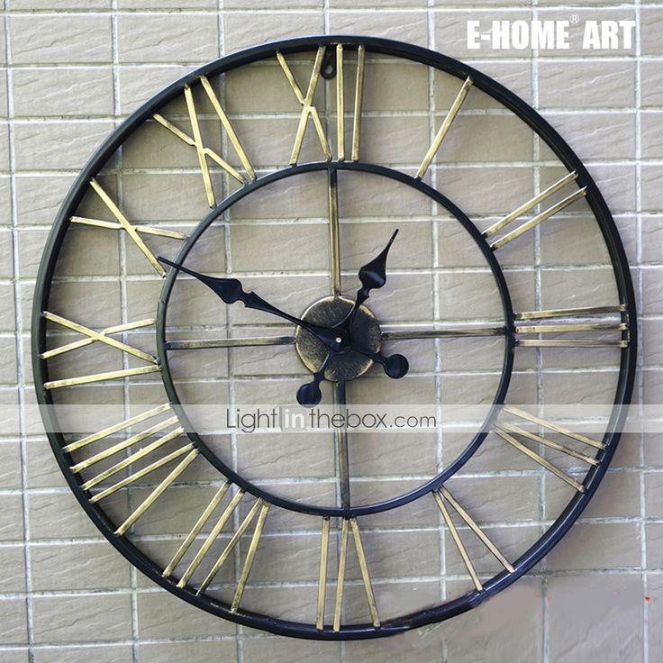 Die besten 25 large wall clock 60cm ideen auf pinterest for Grosse horloge murale moderne