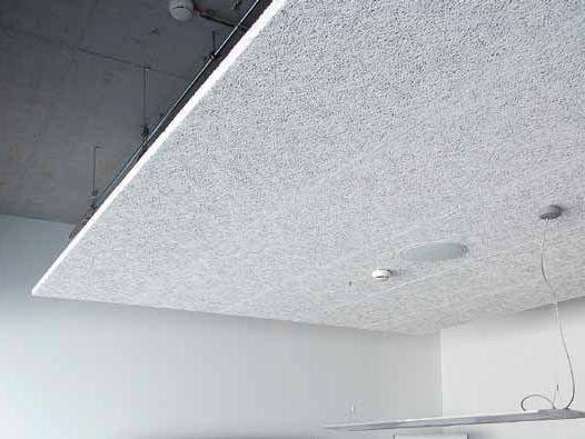 Faux-plafond acoustique en laine de bois Heradesign® - Knauf AMF Italia Controsoffitti