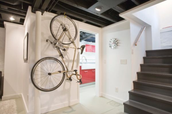 Creative Ideas That Show You How To Park Your Bike Indoors