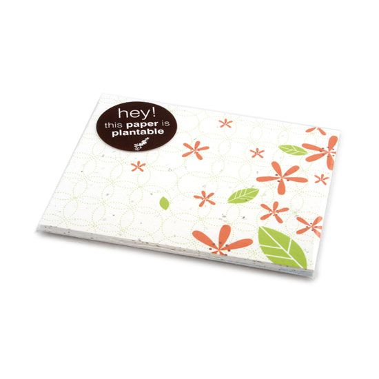 Plantable paper postcard sets - Perfect for place-setting