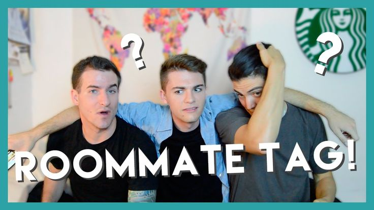 TWO STRAIGHTS & A GAY | Roommate Tag!