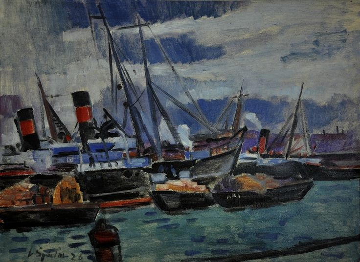 Václav Špále - Marseille #painting #Czechia #art