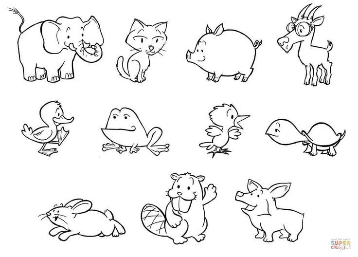 Как нарисовать открытку животных