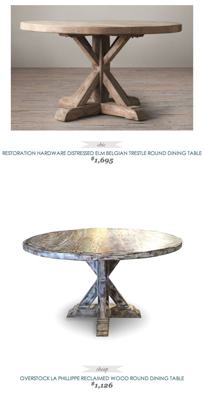Reclaimed wood round dining table woodworking projects for Reclaimed wood round dining table