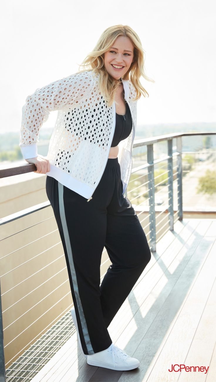 For gym time or me time, activewear can be used for anything from lunges to lounging. Take 5 in athletic apparel that has its pulse on trendy features, like cool cutouts and bold stripes.