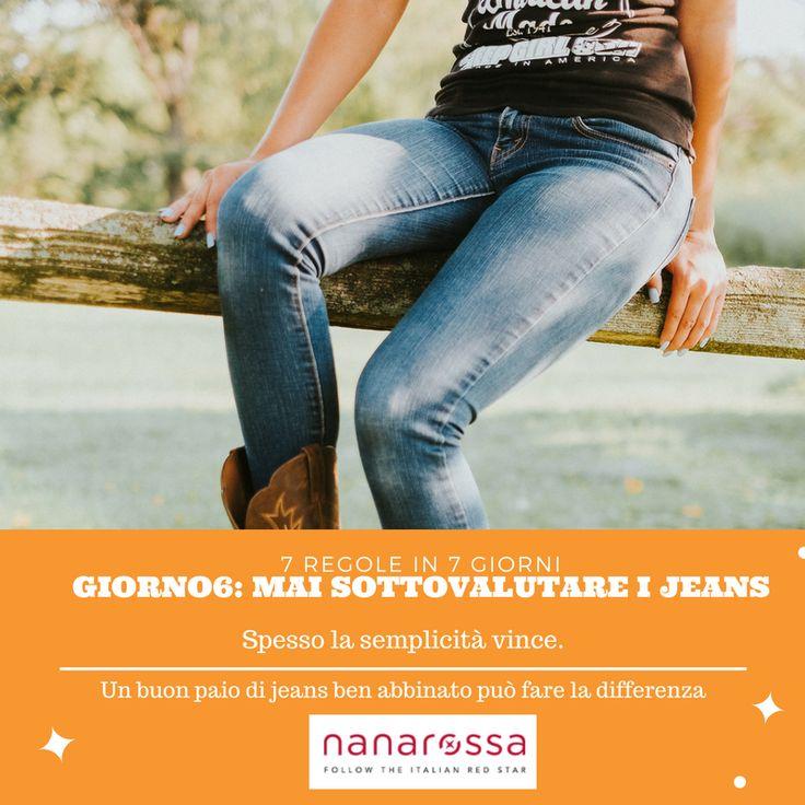 7 Regole in 7 giorni – scopri quali consigli seguire per avere sempre il look giusto – Giorno6 #nanarossa #7consigli