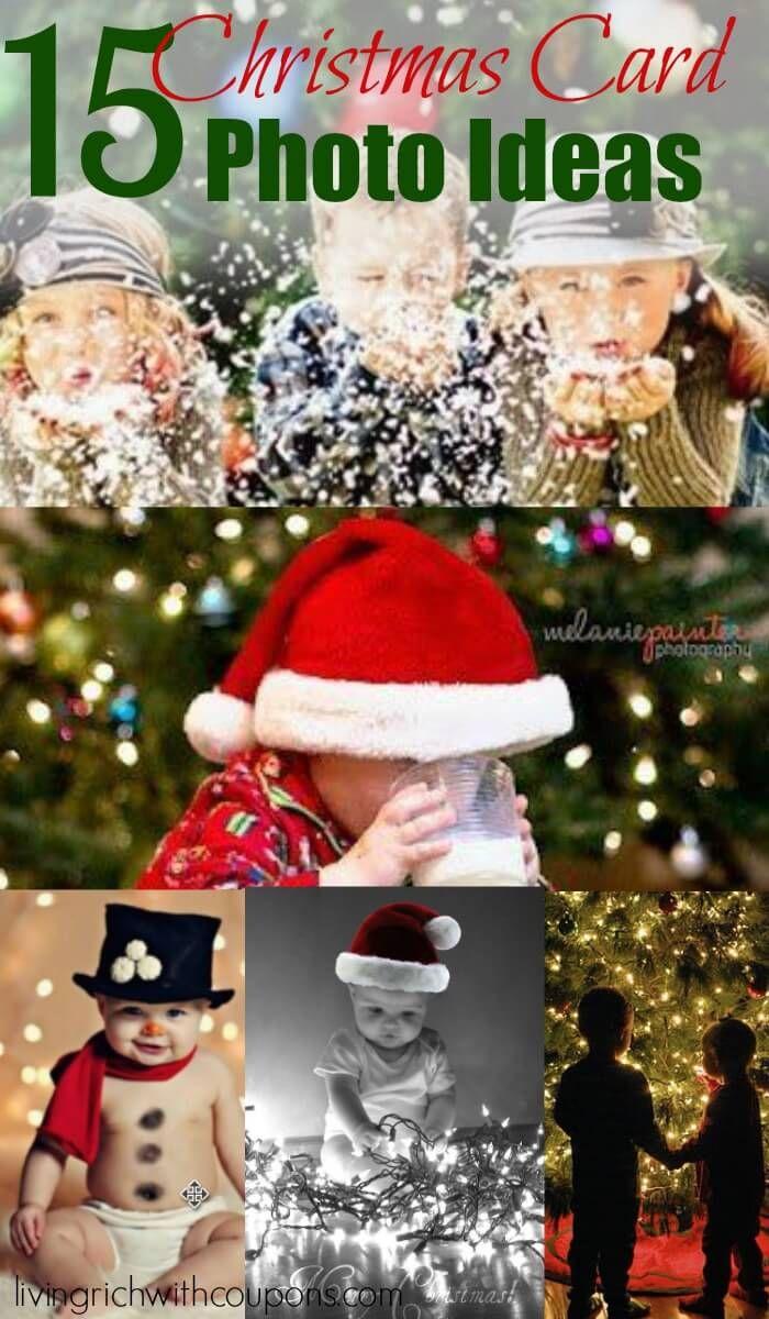 15 Christmas Card Photo Ideas #christmascards #photography #christmas
