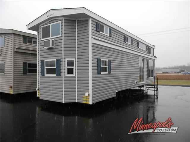 2016 New Kropf Industries Island Series 4856 Park Model in Minnesota MN.Recreational Vehicle, rv, 2016 Kropf Industries Island Series 4856, Very popular Triple Loft Just arrived. Features sleeping for up to 10! Wine Fridge, Built in Wine rack, and much much more! Call for details today!