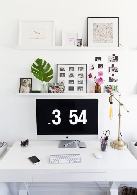88 best Office Decor Ideas images on Pinterest Desks, Work - home offices im industriellen stil