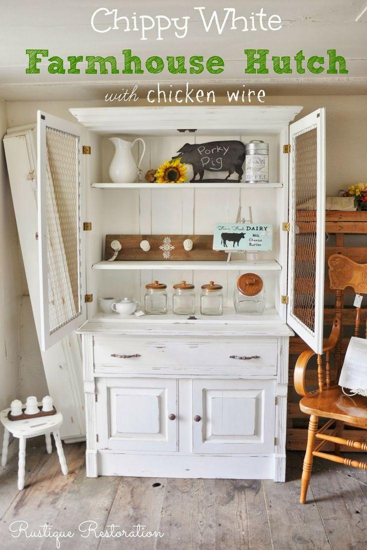 113 best Hutches images on Pinterest | Antique furniture, Furniture ...
