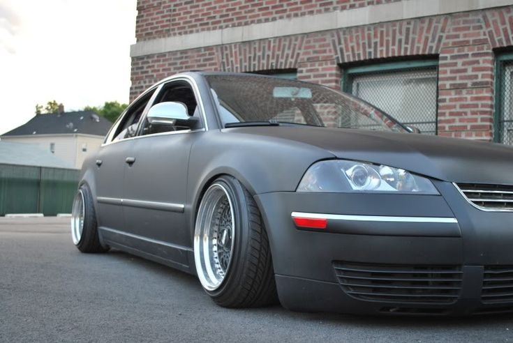 B5 Passat Slammed | Re: FS: 16 Inch bbs rs, spiked bolts, 3 inch lips (Taj Franz)