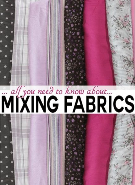 11 insider tips about... How to mix fabrics! - on Craftsy Blog - Serger Pepper