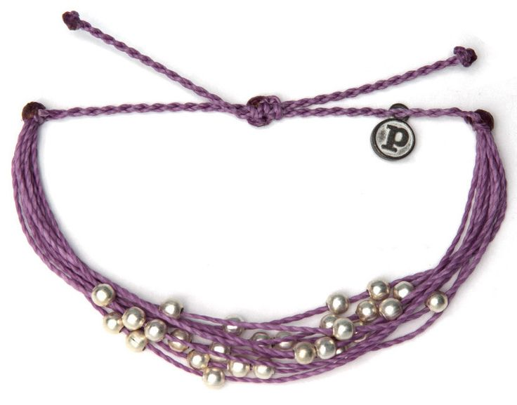 Charm Bracelet - Rose in Lavender by VIDA VIDA