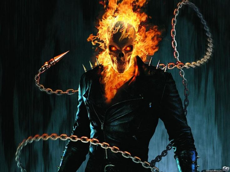 ghost rider   Fangs For The Fantasy: Wednesday Reboot: Ghost Rider