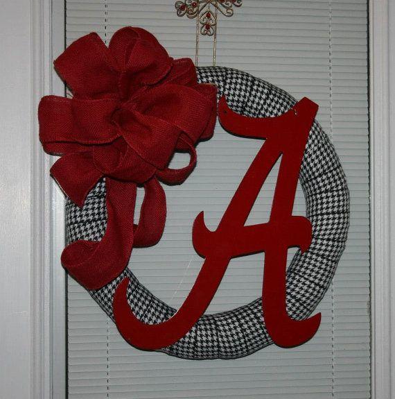 @Michelle Flynn Flynn Norris-Zemlik Alabama wreath. looking up some ideas