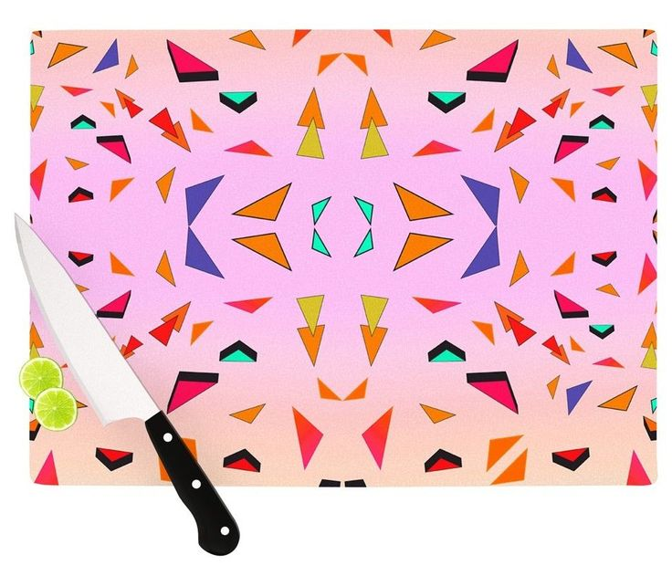 Candy Land Tropical Cutting Board