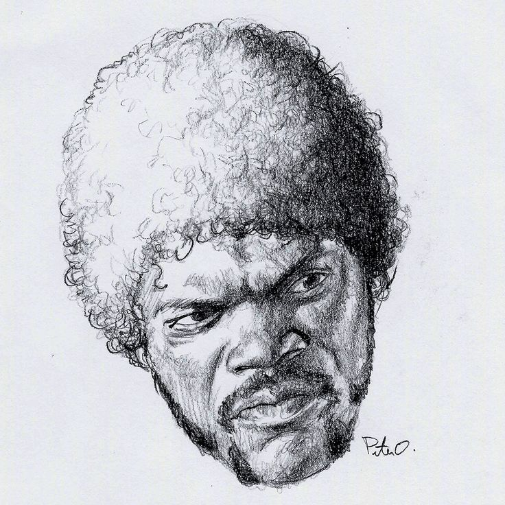 "Samuel L. Jackson - 0.7mm mechanical pencil. #samuelljackson #pulpfiction It's been over 23 years since the release of this iconic film and our introduction to Jules Winnifield, a righteous hitman. 23 years! Since then, Jackson has starred in five other Tarantino films - an incredible collaboration. Even more impressive - his filmography of over 100 movies. His best work; in my opinion, remains his stellar narration of ""Go the F**k to Sleep"" - a bedtime storybook written by Adam Mansbach."