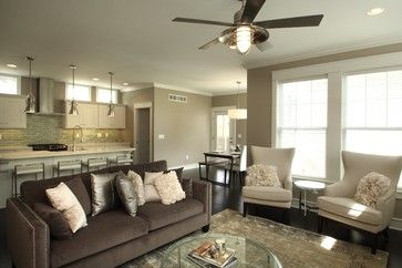 The St. Clair - transitional - living room - other metro - Peninsula Development Company - IC interior designer