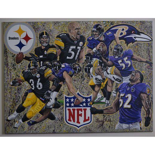 Deacon Jones Foundation Baltimore Ravens vs. Pittsburgh Steelers Turf War Dueling