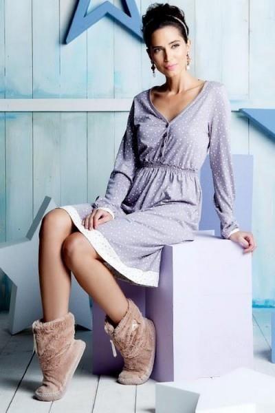 Женское домашнее платье интернет магазин