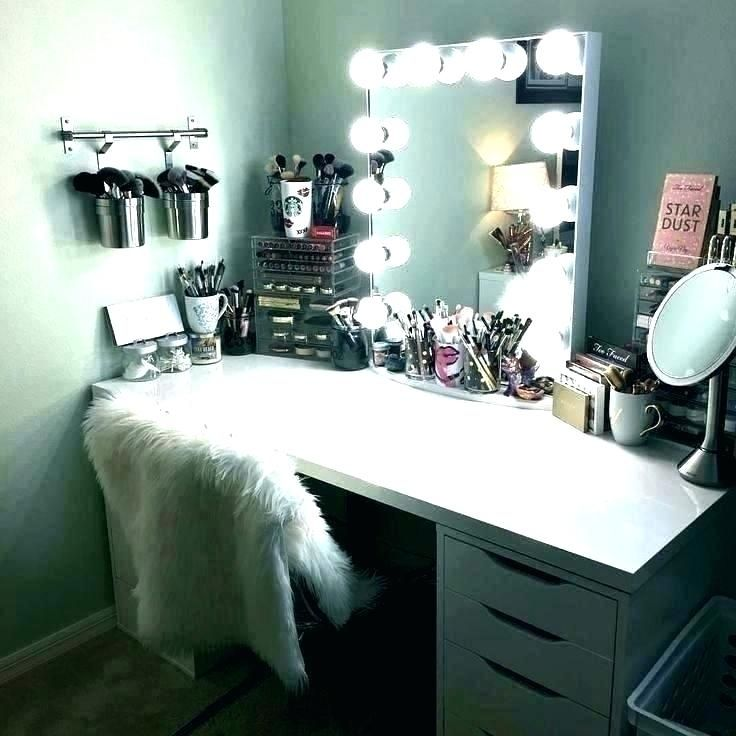 vanity mirror with lights for bedroom   aesthetic bedroom