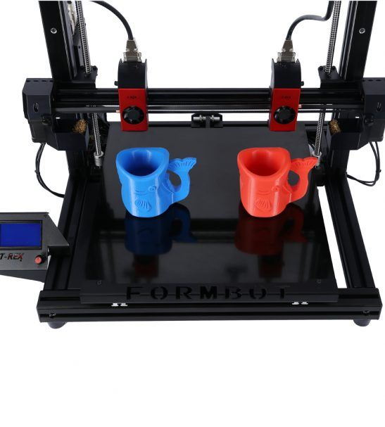 Big 3D Printer with Customized Z Axis Height 400x400x700mm