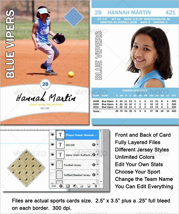 Free Baseball Card Template Download Best Of 16 Baseball Card Templates Psd Ai Eps Baseball Card Template Card Template Baseball Cards