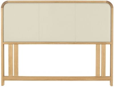 Bentley Designs Capri Oak Headboard - Upholstered