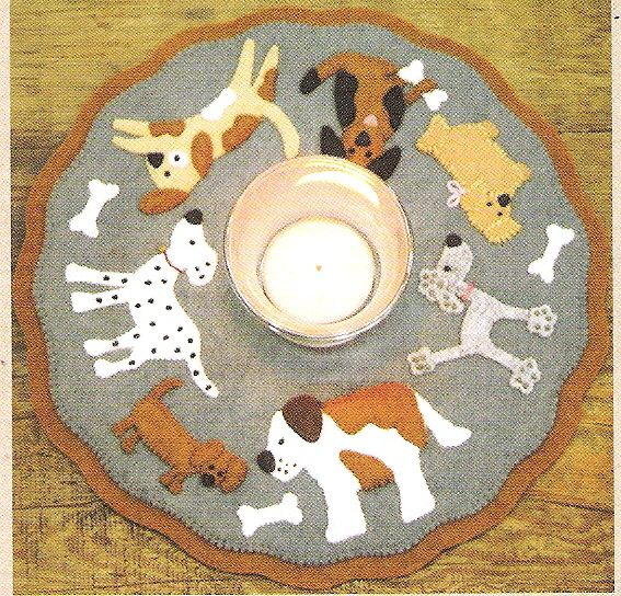 Rug Dogs Embroidery Designs: Prairie Point Junction